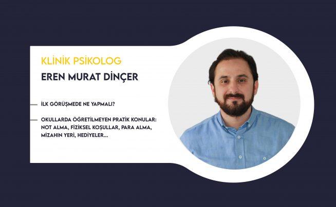 Terapistin Alet Çantası Eğitimi – Eren Murat Dinçer